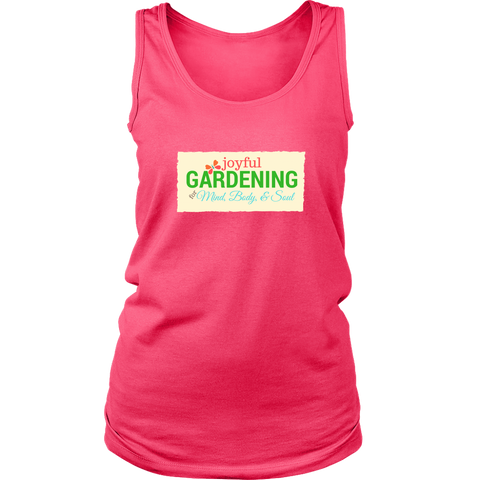 Joyful Gardening Ladies Tank