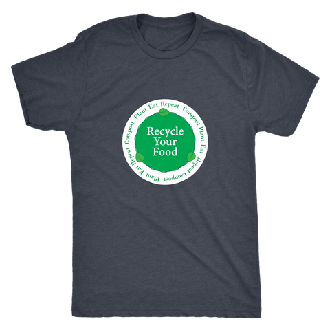 Recycle Your Food Vintage Tee