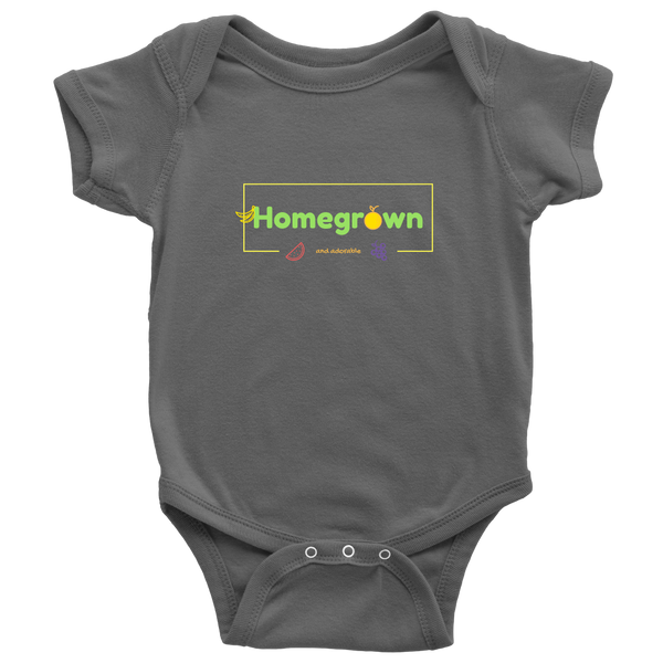 Homegrown and Adorable Baby Onesie