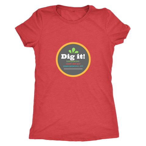 Dig it! Ladies Vintage Tee