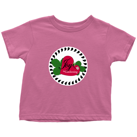 Joy in Gardening Toddler Tee