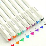 8 Colored Ink Gel Pen Set (8 per set)