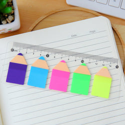 Bright Pencil Sticky Notes