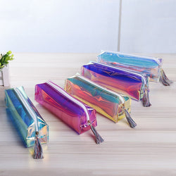 Colorful Shiny Metallic Style Pencil Pouch