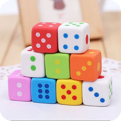 Dice Erasers (3pcs/set)