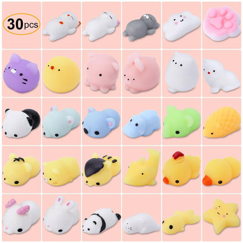 Cute Squishy Animals Stress Relief (30/set)
