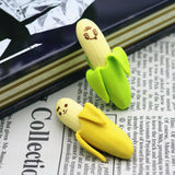 Banana Erasers (4 per set)