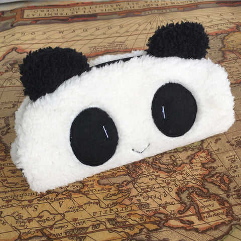 Panda Plush Pencil Case