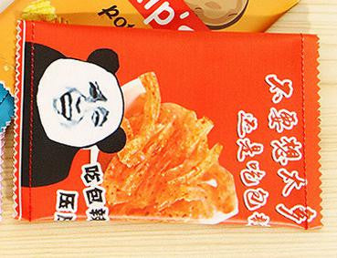 Panda Chips Pencil Pouch