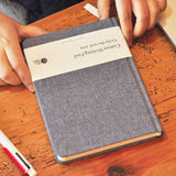 Cotton Feel Hardcover Notebook