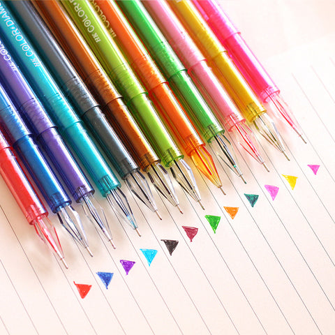 Gel Ink Color Pens 12 Pcs/Set