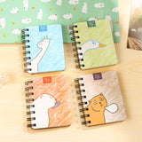 Mini Coil Notebook Giraffe