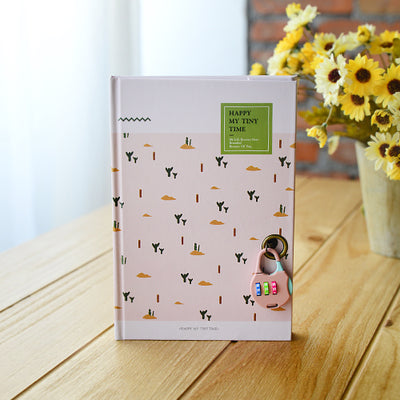 Cute Diary Notebooks with Code Locks