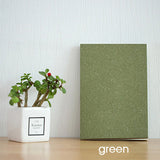 Kraft Cover Notebooks With Grid Paper