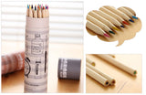 Light Wood Color Pencils in Tube