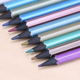 Metallic Lead Color Pencil Set (12 pencils/set)