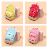 Mini Backpack Dots Pencil Case