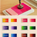 6 Style Multi Colors Ink Pad