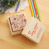 25 Piece Mini Stamp Box