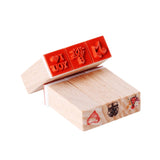 Cute Mini 12 Pieces Stamps