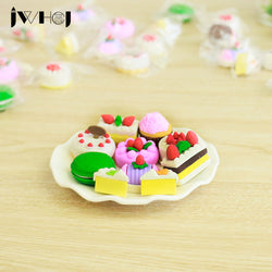 Cartoon Cake Erasers