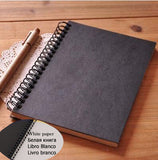 Kraft Black & Brown Journal Notebook