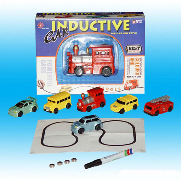Magic Inductive Truck Following Black Pen Toy