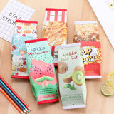 Snack Pencil Bags