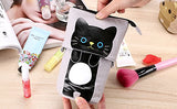 Push Up Push Down Kitty Pencil Pouch