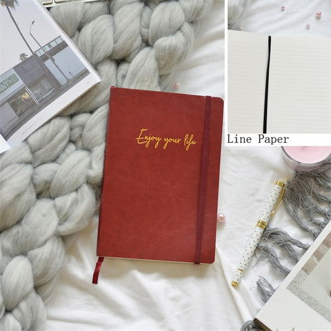 Soft Cover Grid Notebook