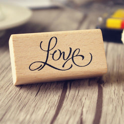 Love Rubber Stamp