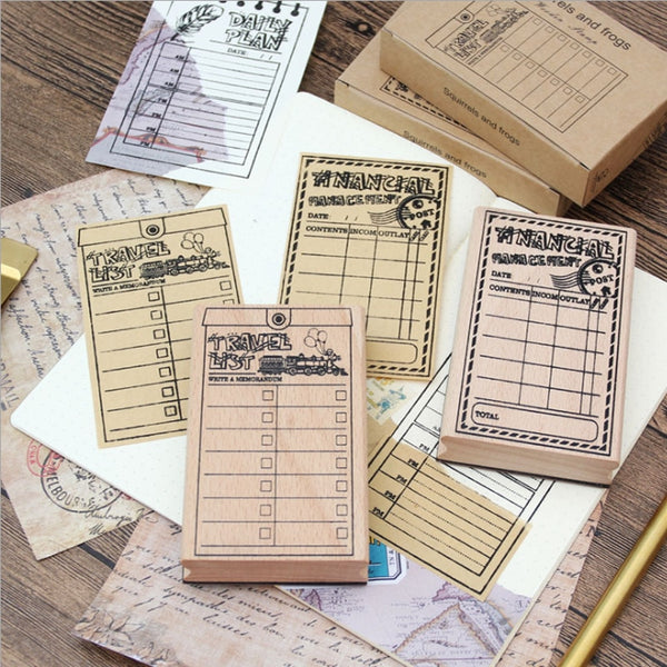 My Lists Stamp Set (6 pieces)