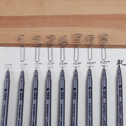 STA Drawing and Sketching Pen (9pcs)