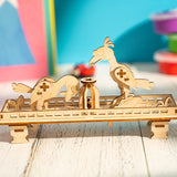 3D Wooden Puzzle Relief Toys