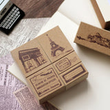 Landmark Travel Stamp Set (6 pieces)