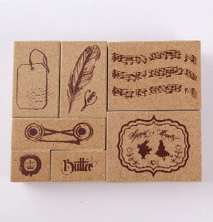 Musical Stamp Set (7 pieces)