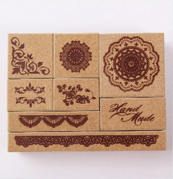 Ornament Stamp Set (8 pieces)