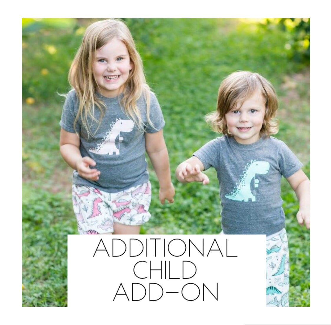 Additional Child ADD-ON Photo Shoot - August 18