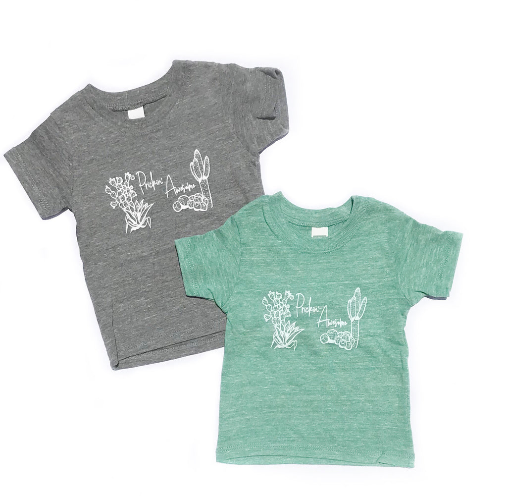 Organic Prickin' Awesome Kid's Tee