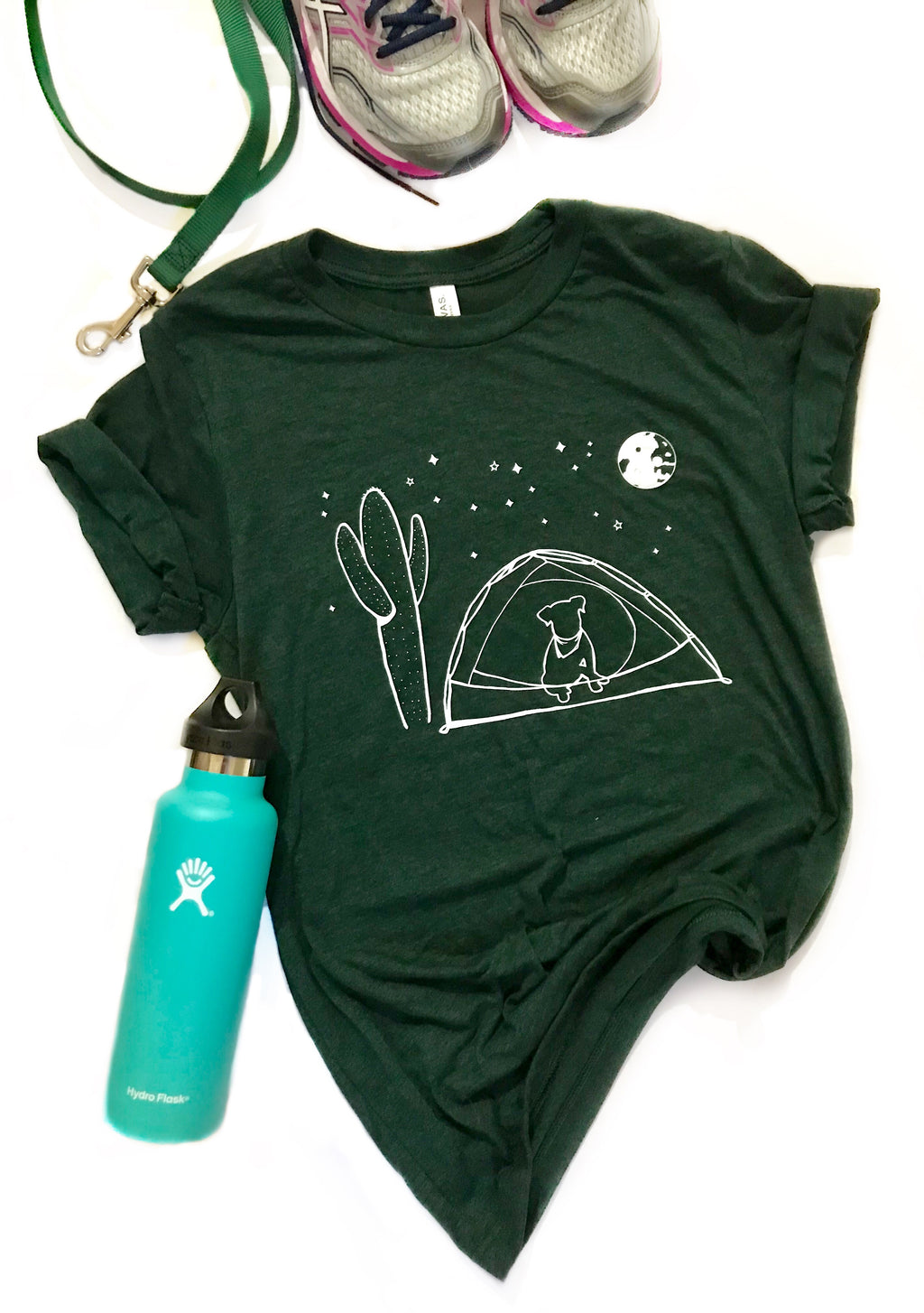 Camping Doggy - Fundraiser Tee