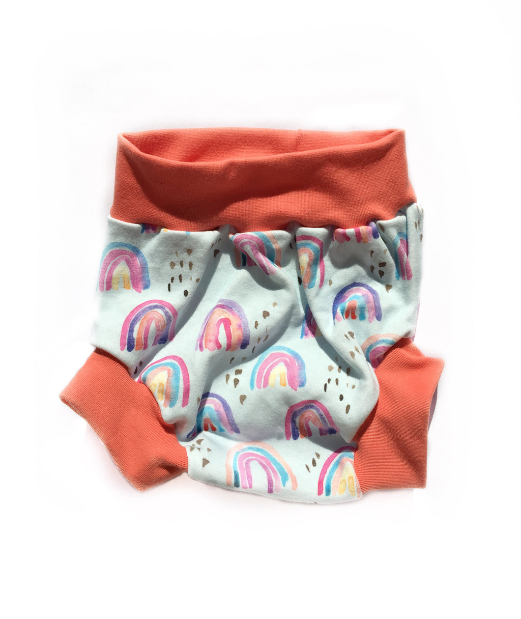 Blue Rainbow Bloomers/Bubble Shorts