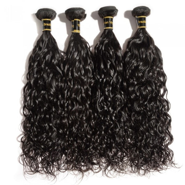 Brazilian Premium Virgin Hair - Natural Wave 10-30 Inches