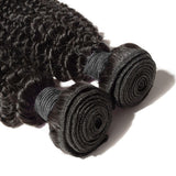 Indian Premium Virgin Hair - Kinky Curly 10-30 Inches Two Wefts