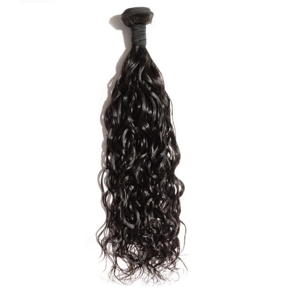 Indian Premium Virgin Hair - Natural Wave 10-30 Inches One Bundle