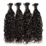 Indian Premium Virgin Hair - Natural Wave 10-30 Inches Four Bundles