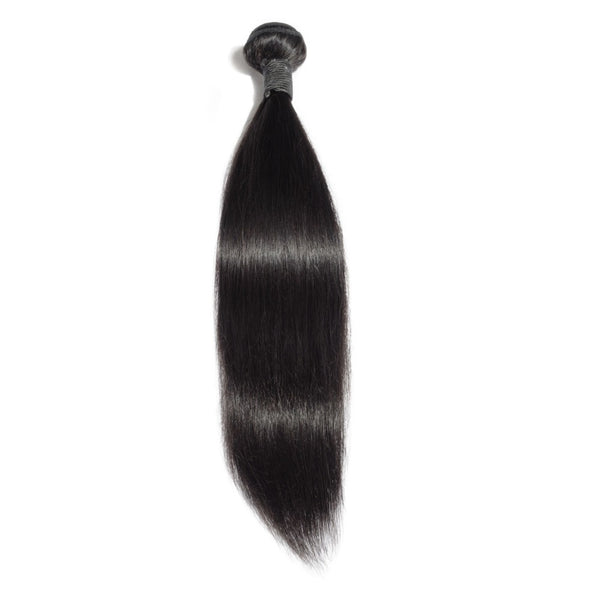 Indian Premium Virgin Hair - Straight 10-30 Inches One Bundle