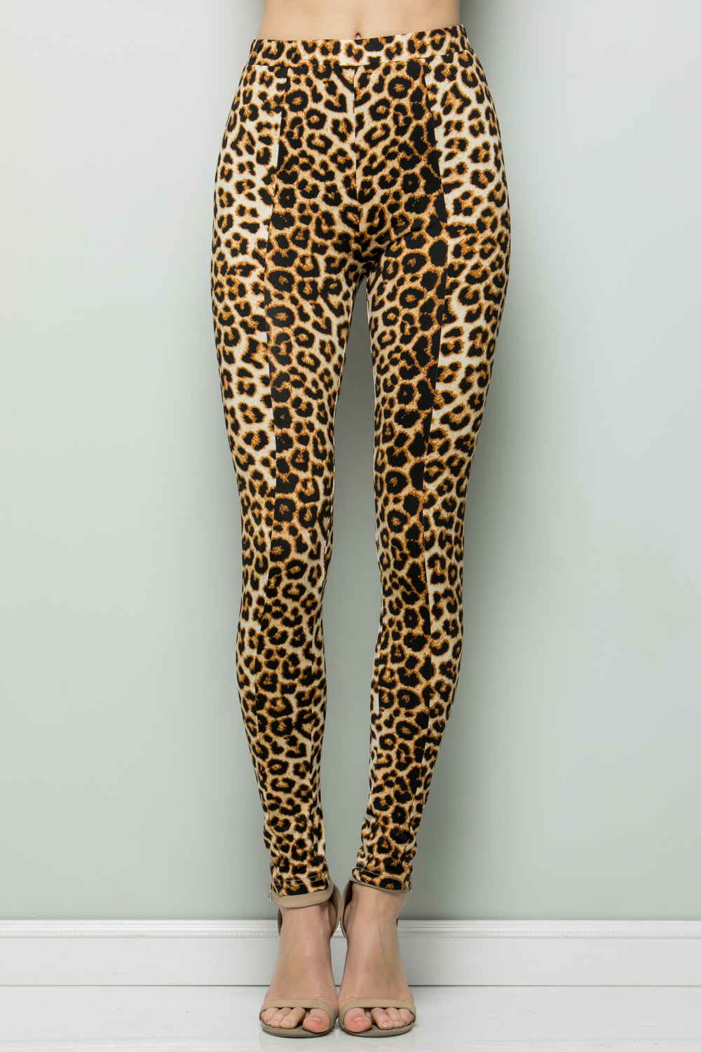P7054 Animal print Leggings