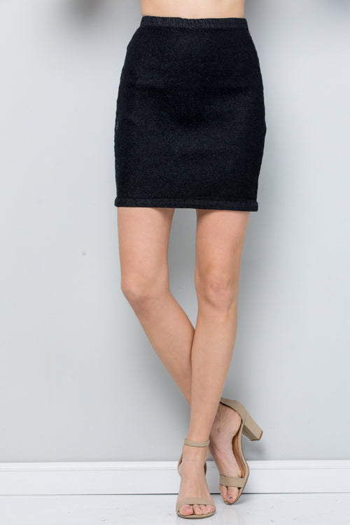 S9037 Stretch Denim Skirt