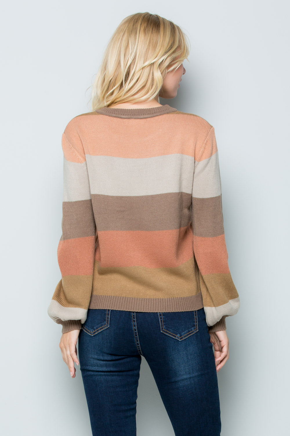 SW6043 Rainbow Sweater