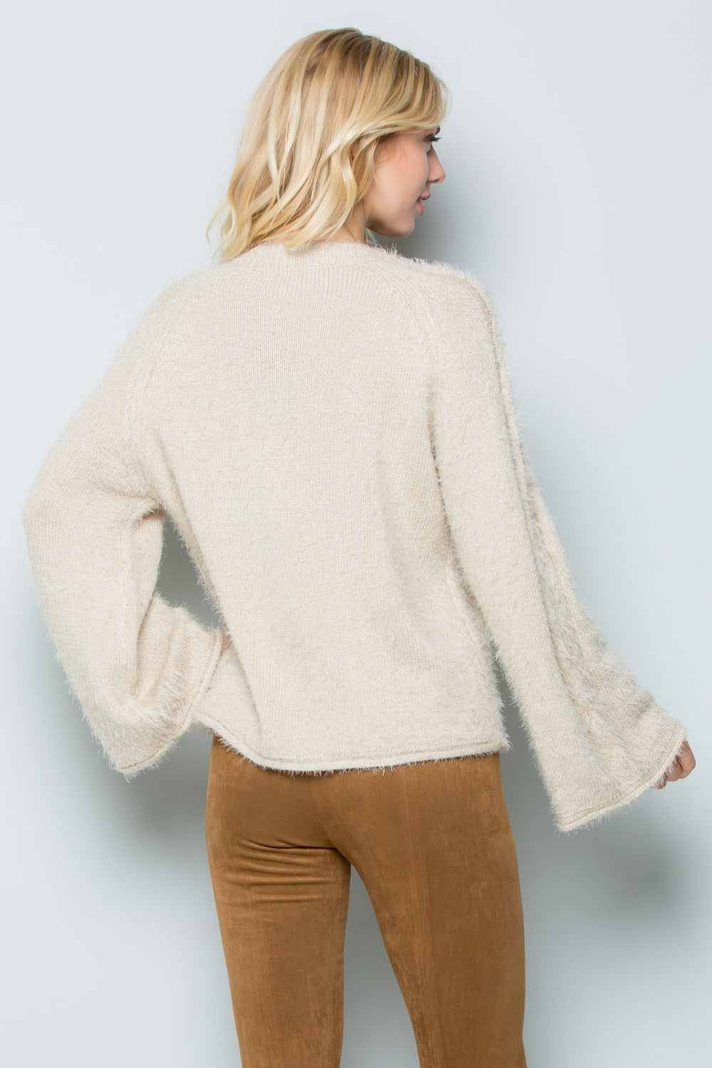 SW6048 Cable Sweater